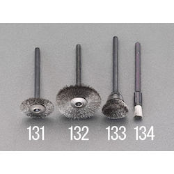 Hi Speed Stainless Spiral Brush with Shaft (3mm) EA819AJ-134