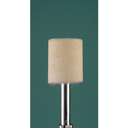 Felt Buff Soft Type with Shaft (6mm) EA819BH-15