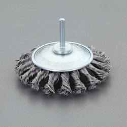 Bevel Type Wire Brush with Shaft (6mm Shaft) EA819BM-322