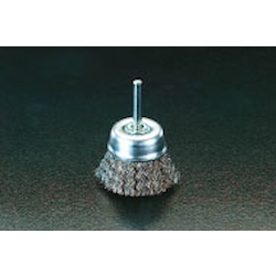 Cup Type Stainless Steel Brush with Shaft (6mm Shaft) EA819BR-12