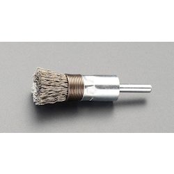 End Type Wire Brush with Shaft (6mm Shaft) EA819BT-27