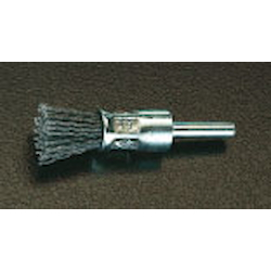 End Type Nylon Brush with Shaft [with Abrasive Grain] (6mm Shaft) EA819BX-23