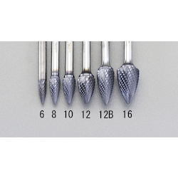 [TiAIN Coating] Carbide Bit (6mm) EA819VF-12B