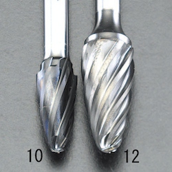 [Carbon Coating] Carbide Bit for aluminum EA819VY-12
