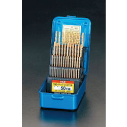 Drill Set [TiN-Co HSS] (50 pcs set) EA824BE-50