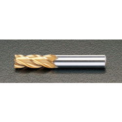 [TiN Coat] Co-HSS 4-Blade End Mill EA824RB-3.0