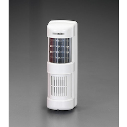 LED Light On and Off Type with Siren (white) EA864EB-12