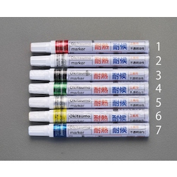 Heat-Resistant & Weather-Resistant Marker EA942CD-6