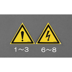 Safety Sign Sticker EA983CC-2
