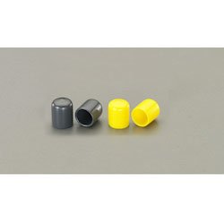 Round Shape Protection Cap 2 Pcs (Yellow) EA983FN-220Y