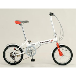 Folding Bicycle [16 Inch] EA986Y-12A