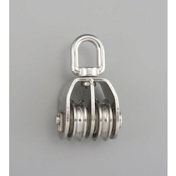 [Stainless Steel] Pulley (2 Wheels) EA987SM-38W