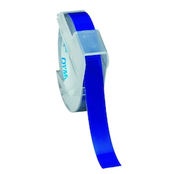 Dymo Glossy Tape 9 mm Blue