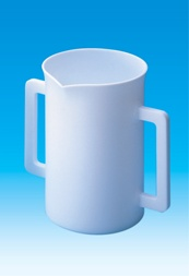 Beaker with Two Handles PTFE