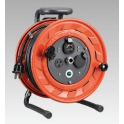 AP-302L Cord Reel (3-Phase 200 V), 30 m, Locking-Type Plug
