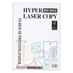 Hyper Laser Copy Paper A4 Natural White Basis Weight: 100 g/m² Duodecimo Conversion: 86.0 kg 100 Sheets