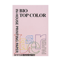 BIO Top Color Paper A4 100 Sheets 80 g/m² Flamingo
