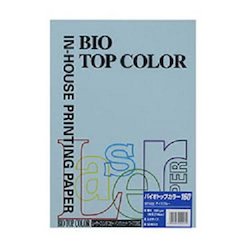BIO Top Color Paper A4 50 Sheets 160 g/m² Ice Blue