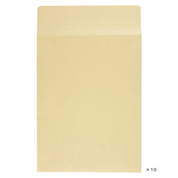 Craft Envelope with Square Bottom Gusset, 287 x 382 mm, 10 Pieces