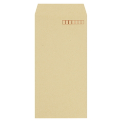 Craft Envelope, 70 g, Side Pasting, 120 x 235 mm with Border, 1000 Pieces