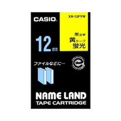 Name Land Tape 12 mm Fluorescent Yellow
