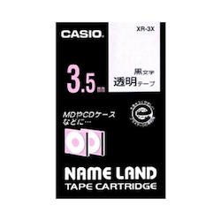 Name Land Tape 3.5 mm Clear