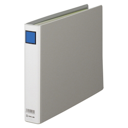 KING FILE G A4E Gray Standard: A4 Size Landscape Back Width: 46 mm Bind Thickness: 30 mm Appropriate Capacity: 300 Sheets