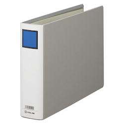 KING FILE G A4E Gray Standard: A4 Size Landscape Back Width: 66 mm Bind Thickness: 50 mm Appropriate Capacity: 500 Sheets
