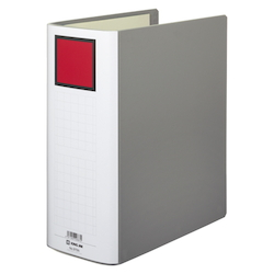 KING FILE G A4S Gray Standard: A4 Size Portrait, Back Width: 116 mm Bind Thickness: 100 mm Appropriate Capacity: 1000 Sheets
