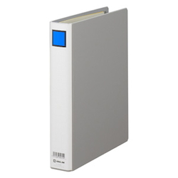 KING FILE G B5S Gray Standard: B5 Size Portrait, Back Width: 46 mm Bind Thickness: 30 mm Appropriate Capacity: 300 Sheets