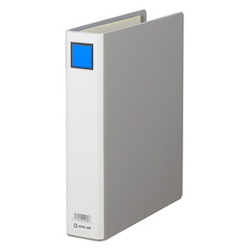 KING FILE G B5S Gray Standard: B5 Size Portrait, Back Width: 56 mm Bind Thickness: 40 mm Appropriate Capacity: 400 Sheets