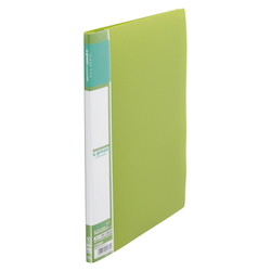 U GREEN Clear File, Reasonable A4 10P, Green