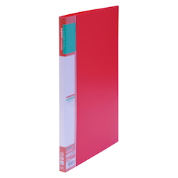 U GREEN Clear File, Reasonable A4 20P, Red