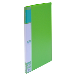 U GREEN Clear File, Reasonable A4 20P, Green