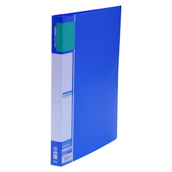 U GREEN Clear File, Reasonable A4 40P, Blue