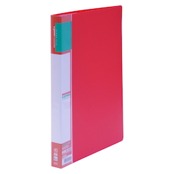 U GREEN Clear File, Reasonable A4 40P, Red