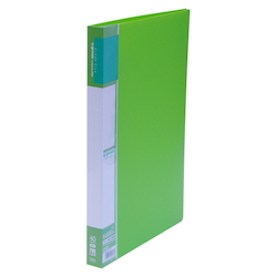 U GREEN Clear File, Reasonable A4 40P, Green