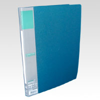 u green Clear File A4, A4 Size Vertical Type (20 Pockets) Green