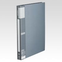u green Clear File A4, A4 Size Vertical Type (40 Pockets) Silver