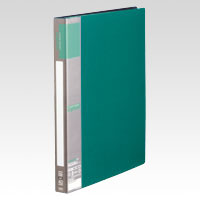 u green Clear File A4, A4 Size Vertical Type (40 Pockets) Green