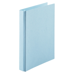 A-NER File B5 Size Vertical (Back Width 10 to 110 mm), 2 Holes, Blue