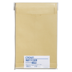 Crown Envelope with Square Bottom Gusset, 240 x 332 mm, 10 Pieces