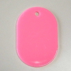 Large Number Ticket, Plain Includes 50 Sheet Pink