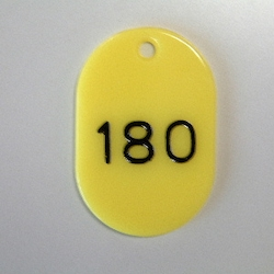 Large Number Ticket, Serial 151-200 Yellow