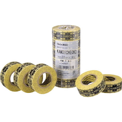 Masking Tape CHECK3 1 Pack for Vehicle Coating (6 Rolls)