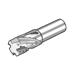 MECH Type End Mill (with Coolant Holes at Tip Blade)