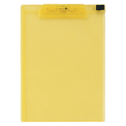 AQUA DROPs Clipboard A4E Type Yellow