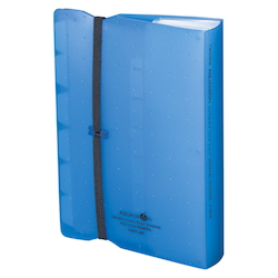 AQUA DROPs Postcard Holder A6 Blue