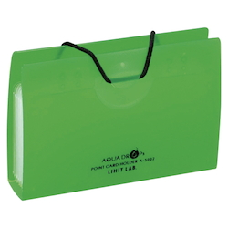 AQUA DROPs Point Card Holder 10 Pieces Yellow-Green