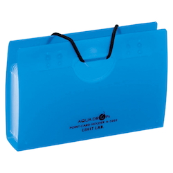 AQUA DROPs Point Card Holder 10 Pieces Blue